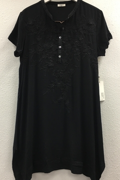 Dylan by True Grit Embroidered Henley Dress - Alternate List Image