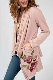 Ivy Jane Embroidered Hooded Jacket - Product Mini Image