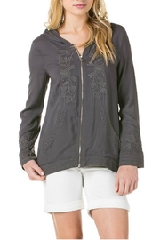 Monoreno Embroidered Hoodie Jacket - Product Mini Image