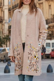 Driftwood Embroidered Innsbruck Coat - Product Mini Image