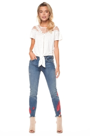 Dex Embroidered Jeans - Product Mini Image