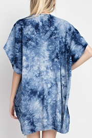 12pm by Mon Ami Embroidered Kimono - Back cropped