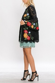 The Vintage Valet Embroidered Lace Jacket - Front full body