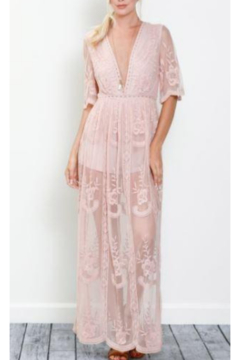 Wishlist Embroidered Lace Maxi Dress - Product List Image