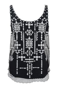 Goldie Embroidered Lace Top - Alternate List Image