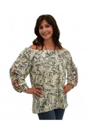 Multiples Embroidered Lace Top - Product Mini Image