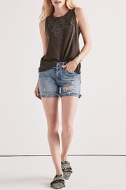 Lucky Brand Embroidered Leaf Tank - Product Mini Image