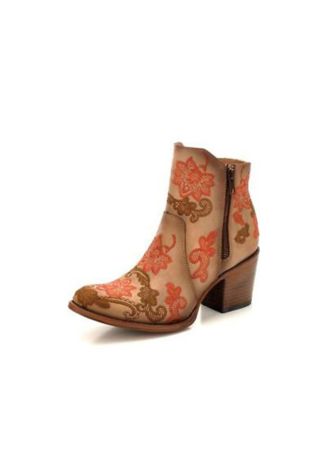 Corral Boots Embroidered Leather Boot - Main Image
