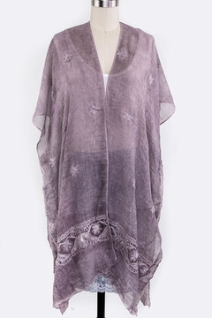 Shoptiques Product: Embroidered Lightweight Kimono
