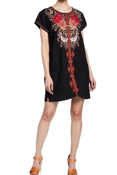 Shoptiques Product: Embroidered Linen Tunic
