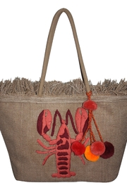 America & Beyond Embroidered Lobster Bag - Product Mini Image