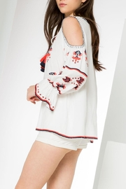 THML Clothing Embroidered Ls Top - Side cropped