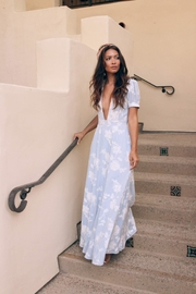 SAGE THE LABEL Embroidered Maxi Dress - Product Mini Image