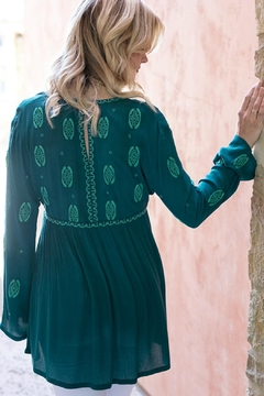 Grace & Lace Embroidered Medallion Tunic - Alternate List Image