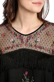 Wrangler Embroidered Mesh Top - Product Mini Image