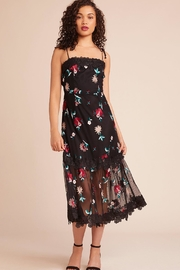 BB Dakota Embroidered Midi Dress - Product Mini Image