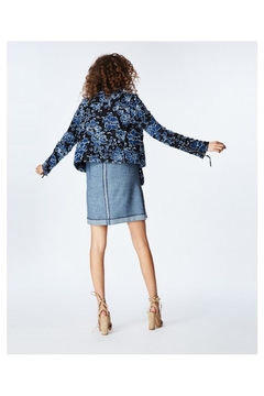 Nicole Miller Embroidered Moto Jacket - Alternate List Image