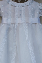 Luli & Me Embroidered Organza Dress - Front full body
