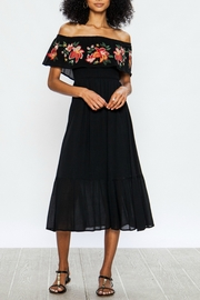 Flying Tomato Embroidered Ots Dress - Front cropped