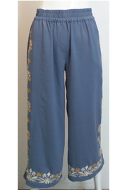 THML  Embroidered pants - Product Mini Image