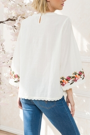 Mystree Embroidered Pintuck - Front full body