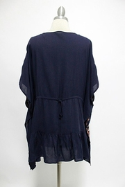 Andree by Unit Embroidered Poncho-Like Tunic - Product Mini Image