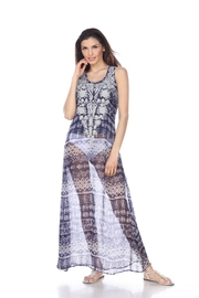 Kareena's Embroidered Printed Dress - Product Mini Image