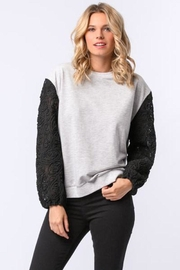 Femme Boutique Boston  Embroidered Pullover - Product Mini Image