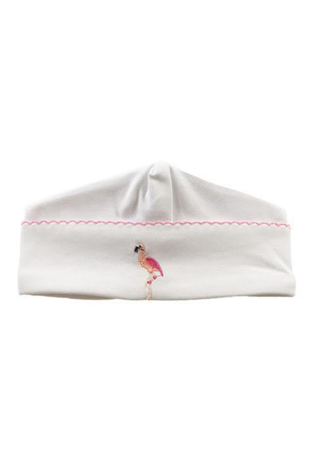 SAMMY & NAT Embroidered Receiving Hat - Front Cropped Image