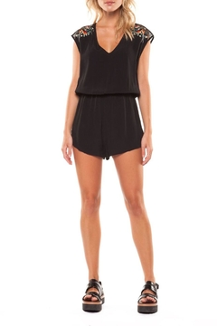 Dex Embroidered Romper - Product List Image
