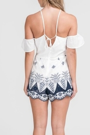 Lush Embroidered Romper - Side cropped