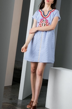 THML Clothing Embroidered Shift Dress - Product List Image