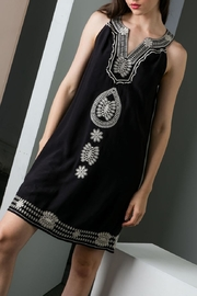 THML Clothing Embroidered Shift Dress - Product Mini Image