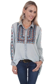 Scully Embroidered Shirt - Product Mini Image