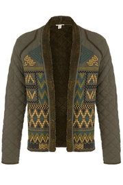 Tribal Embroidered Short Jacket - Product Mini Image
