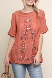 Style U Embroidered Short Sleeve - Front cropped