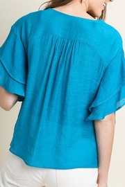 Cloudwalk Embroidered Short Sleeve - Front full body
