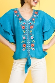 Cloudwalk Embroidered Short Sleeve - Front cropped