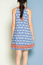 THML Clothing Embroidered Sleeveless Dress - Front full body