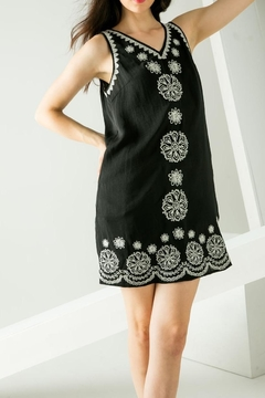 THML Clothing Embroidered Sleeveless Dress - Product List Image