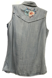 Biz Embroidered Sleeveless Shirt - Product Mini Image