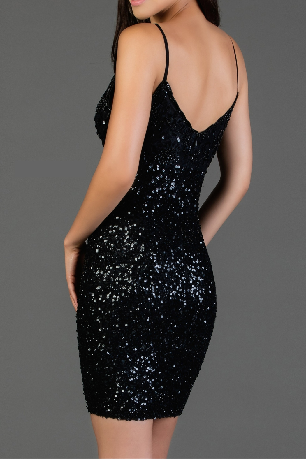 Scala Embroidered Slip Dress - Front Full Image