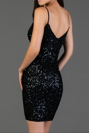 Scala Embroidered Slip Dress - Front full body