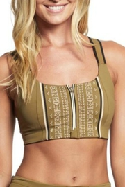 Free People Embroidered Spin Bra - Product Mini Image