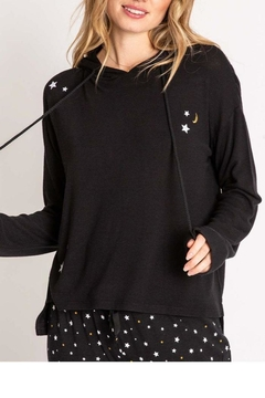 Shoptiques Product: Embroidered Stars Hoodie