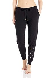 The Dressing Room Embroidered Stars Joggers - Product Mini Image