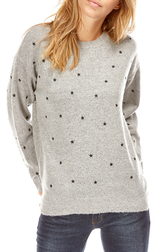 Best Mountain Embroidered Stars Sweater - Product List Image