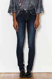 Frankie & Stella Embroidered Straight Leg Jean - Product Mini Image
