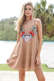 Judith March Embroidered Summer Dress - Product Mini Image