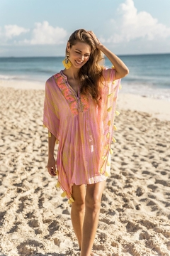 Shoptiques Product: Embroidered Summer Kaftan